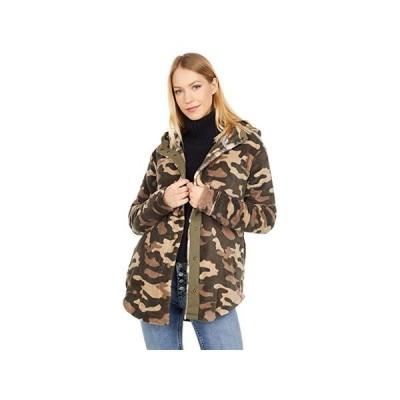 ボルコム Under Wrapz Jacket レディース コート アウター Camouflage