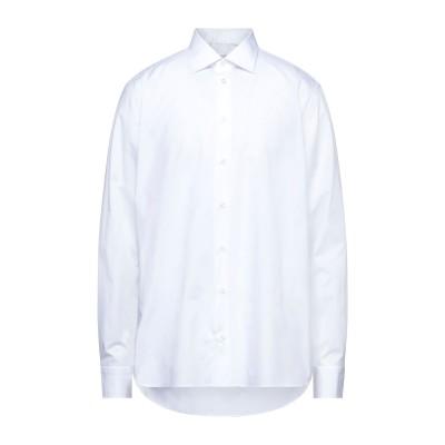 BORRIELLO NAPOLI シャツ ホワイト 45 コットン 100% シャツ