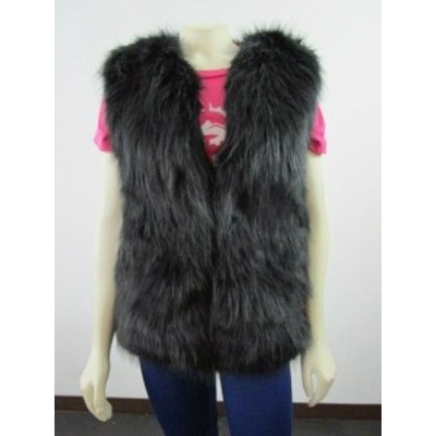 SOREL ソレル ファッション 衣類 NWT Womens XXS-XS-M Sorel Park City Faux Fur Fashion Winter Vest - Black