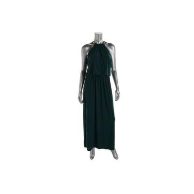 ドレス 女性  海外セレクション MSK 9969 レディース グリーン Matte Jersey Prom Full-Length Evening ドレス 6