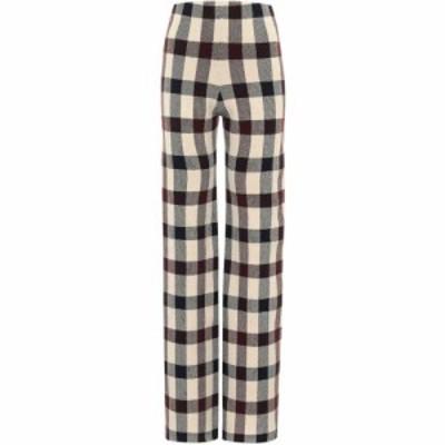 ヴィクトリア ベッカム Victoria Victoria Beckham レディース ボトムス・パンツ checked high rise pants Multi
