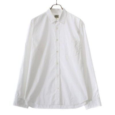 シャツ ブラウス GOLD / ゴールド:COTTON / NYLON WEATHER SHIRT (REGULAR FIT):21A-GL28591