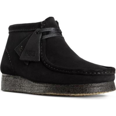 クラークス CLARKS ORIGINALS レディース ブーツ チャッカブーツ シューズ・靴 Wallabee Chukka Boot Black Suede