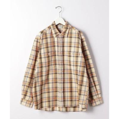 シャツ ブラウス ★ 別注 [ ビッグマック ] BIG MAC GLR チェック シャツ