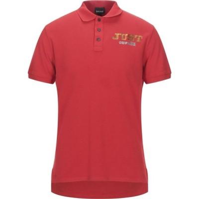 ジャスト カヴァリ JUST CAVALLI メンズ ポロシャツ トップス Polo Shirt Red