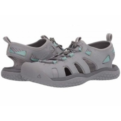 Keen キーン レディース 女性用 シューズ 靴 スニーカー 運動靴 Solr Sandal Light Gray/Ocean Wave【送料無料】