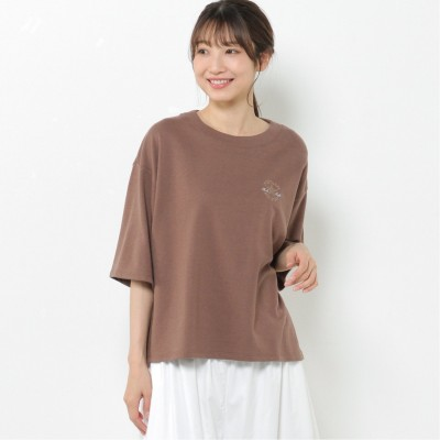 【CONVERSE】ミニ裏毛6分袖Tシャツ(コンバース/CONVERSE)