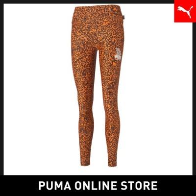 プーマレディース タイツ レギンス PUMA PUMA x MR DOODLE ウィメンズ AOP レギンス