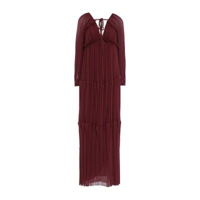 パロッシュ P.A.R.O.S.H. ロングワンピース&ドレス ココア S ポリエステル 100% ロングワンピース&ドレス