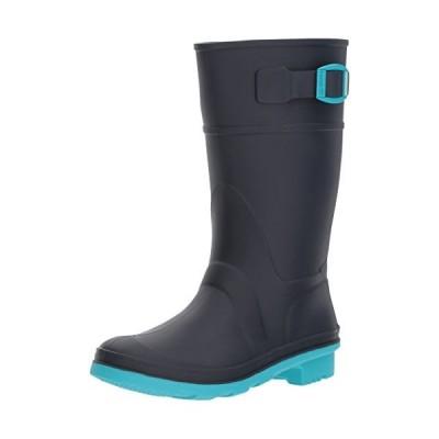 Kamik Kids ' Raindrops Rain Boot カラー: ブルー