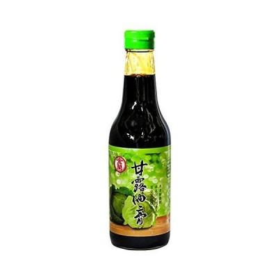 金蘭 醤油膏 甘露油膏 500ml 瓶 台湾 とろみ醤油 100%本醸造
