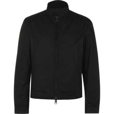 バブアー Barbour International メンズ ジャケット アウター Stove Wax Jacket Black BK