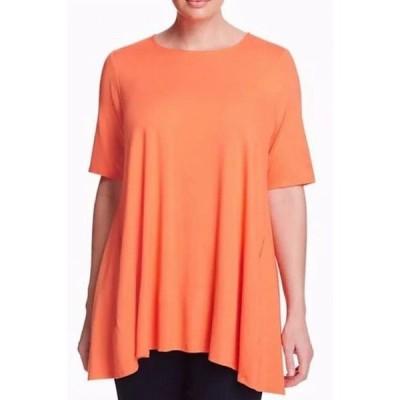 レディース 衣類 トップス Womens Blouse Coral Small Petite Tunic ブラウス&シャツ