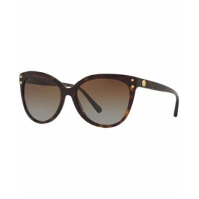 マイケルコース レディース サングラス・アイウェア アクセサリー Polarized Sunglasses MK2045 Jan TORTOISE/BROWN GRADIENT POLAR