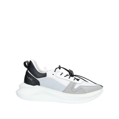 YLATI スニーカー&テニスシューズ(ローカット) ライトグレー 45 革 / 紡績繊維 スニーカー&テニスシューズ(ローカット)