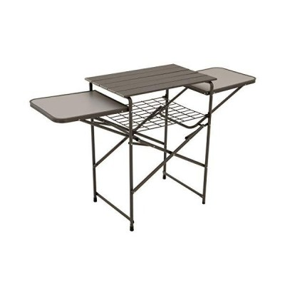 Eureka! Camp Kitchen Portable Folding Camping Cooking Table and Shelf
