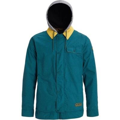 バートン Burton メンズ ジャケット アウター dunmore jacket Deep Teal Acid Wash