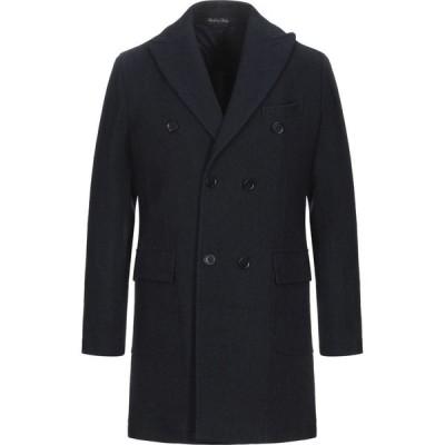 マキシ MAXI HO メンズ コート アウター Coat Dark blue