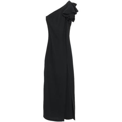 HH COUTURE ロングワンピース&ドレス ブラック M ポリエステル 100% ロングワンピース&ドレス