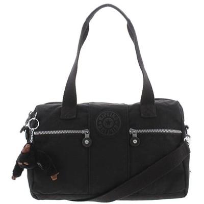Kipling レディース Izabela Convertiblee アジャスタブル Satchel ハンドバッグ ブラック Bag (海外取寄せ品)