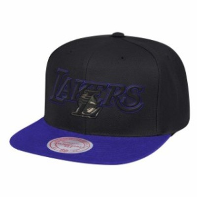 Mitchell & Ness ミッチェル アンド ネス スポーツ用品  Mitchell & Ness Los Angeles Lakers Black/Purple Woodland Co