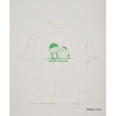 outlet/【CIAOTYPY】「こむたんとぼくのすてきなしっぽ」 コラボ プリントT