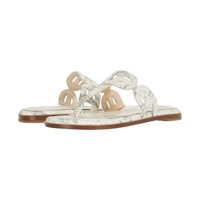 Cole Haan コールハーン レディース 女性用 シューズ 靴 サンダル Anoushka Sandal - Natural Chalk Python Print Leather/Natural Heavy Stitch