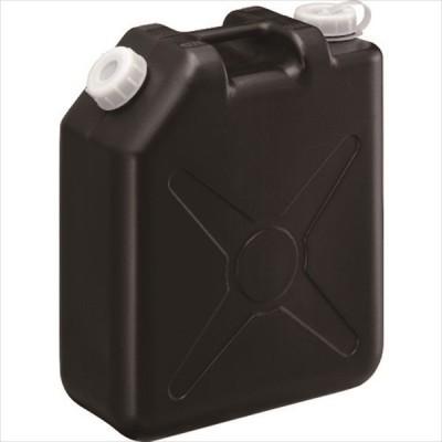(3個以上まとめてのご注文は代引き不可) 瑞穂 扁平缶20Lブラックノズルなし (0207BK)
