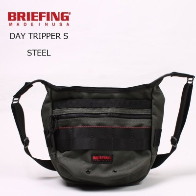 BRIEFING ブリーフィング  DAY TRIPPER S - STEEL ショルダーバッグ