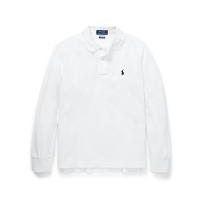 (ボーイズ 8才~20才)コットン メッシュ ポロシャツ