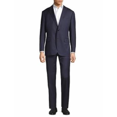 カナリ Men Clothing Water Resistant Stripe Suit