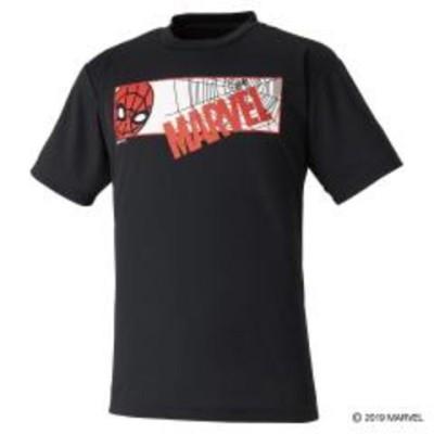 ミズノ MARVEL Tシャツ 72JA9Z53 ブラック メンズ ユニセックス 2019AW バドミントン ゆうパケット(メール便)対応