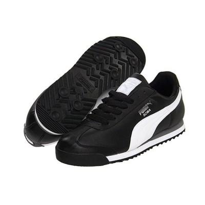 プーマ Roma Basic メンズ スニーカー 靴 シューズ Black/White/Puma Silver