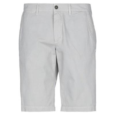 MASON'S ショートパンツ&バミューダパンツ ファッション  メンズファッション  ボトムス、パンツ  ショート、ハーフパンツ ライトグレー