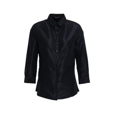CAROLINA HERRERA シャツ ブラック 8 シルク 100% シャツ
