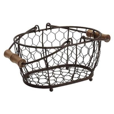 T&G オーバルバスケット(小) ブラウン TG-23