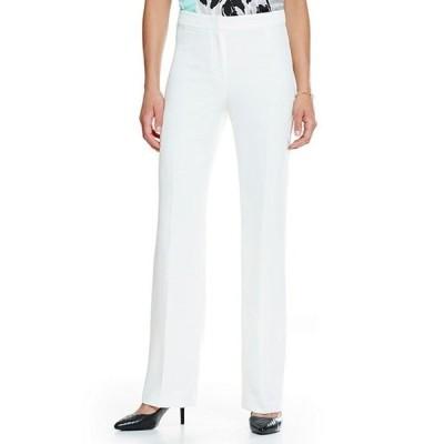 カスパール レディース デニムパンツ ボトムス Solid Crepe Slim Pant