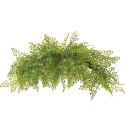 アジアンタムスワッグ グリーン 1コ GLA-1377 2021ds | アレンジメント アートフラワー 花資材 造花 フェイクグリーン リーフ ホウライシダ ディスプレイ