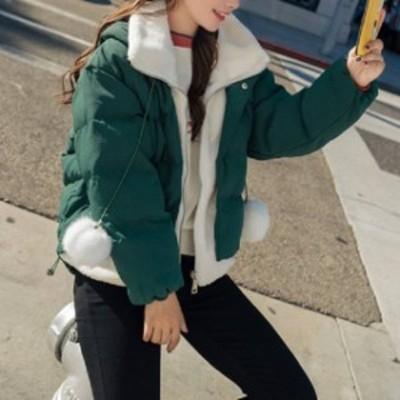 売れ筋 おすすめ コート ジャケット ショート丈 ダウンジャケット ジッパー カジュアル 防寒 女子会 デート 通学 hf0426