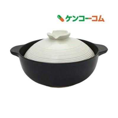 宴 ふきこぼれにくい土鍋 8号 3〜4人用 約24.5cm ( 1コ入 )