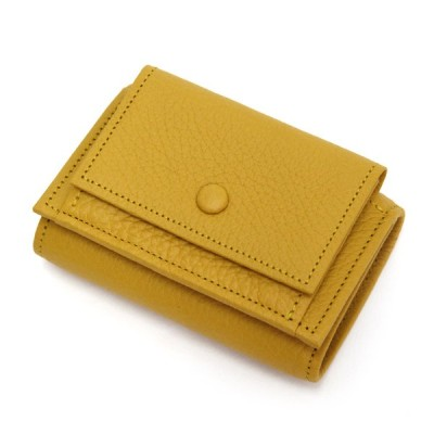 ITUAIS イトゥアイス|TAURILLON COMPACT WALLET (イエロー)(コンパクトウォレット)