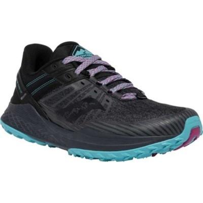 サッカニー レディース スニーカー シューズ Mad River TR2 Trail Running Sneaker Charcoal/Marine