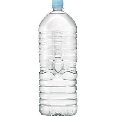 アサヒ おいしい水 天然水 ラベルレスボトル (2L*9本入)