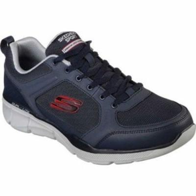 スケッチャーズ スニーカー Relaxed Fit Equalizer 3.0 Deciment Sneaker Navy/Gray