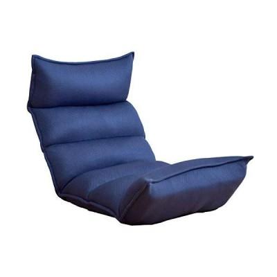 タンスのゲン 低反発座椅子 リクライニング ロココ 14段階リクライニング 肉厚クッション ISO9001認定 ダリアン?