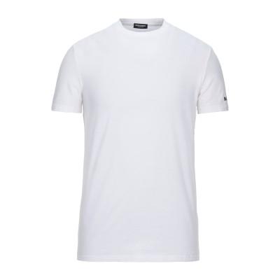 ディースクエアード DSQUARED2 アンダーTシャツ ホワイト XS コットン 95% / ポリウレタン 5% アンダーTシャツ