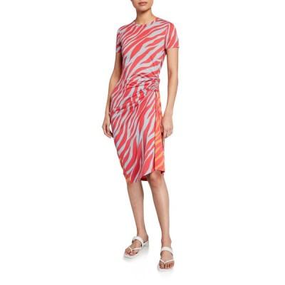 ラグアンドボーン レディース ワンピース トップス Ina Tiger-Stripe Midi Dress