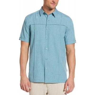 キューバベラ Cubavera メンズ シャツ 大きいサイズ シャンブレーシャツ トップス Big & Tall Pintucked Chambray Shirt Bright Blue