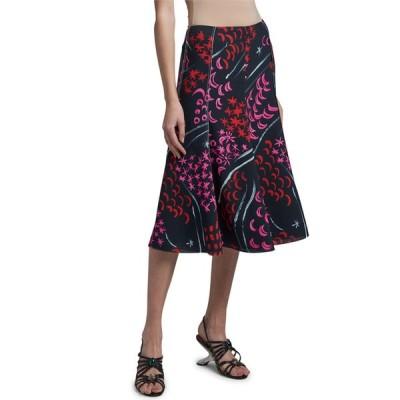 マルニ レディース スカート ボトムス Stars And Moon Print Skirt