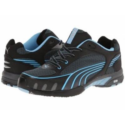 PUMA Safety プーマ レディース 女性用 シューズ 靴 スニーカー 運動靴 Fuse Motion SD Black/Blue【送料無料】